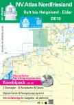 nv-charts Serie 10, Nordfriesische Inseln, Sylt bis Helgoland & Eider Ausgabe 2018 als Atlas