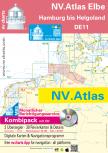 nv-charts Serie 11, Die Elbe, Hamburg bis Helgoland Ausgabe 2018 als Atlas