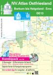nv-charts Serie 13, Ostfriesische Inseln, Borkum bis Helgoland & Ems Ausgabe 2018 als Atlas