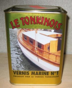 Le Tonkinois, Marine Klarlack No 1, 1,0 ltr. mit verstärktem UV-Schutz