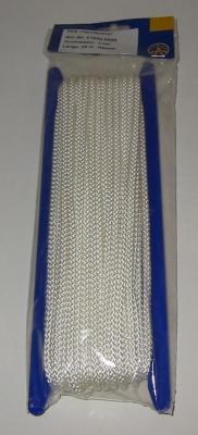 Liros Vielzweckleine , Polyester , 8 - fach geflochten , 5 mm x 20 mtr. BRL : 450 daN