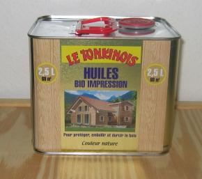 Le Tonkinois Bio Impression , Imprägnieröl, 2,5 ltr.