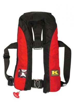 KADEMATIC 275 AL-F, 275 N mit Harness ( Lifebelt ) , Schrittgurt und Spraycap
