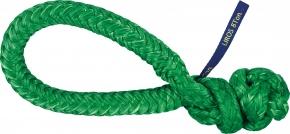 LIROS-XTR Soft Schäkel ,  BRL : 8 t , grün