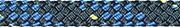 Liros Regatta 2000, 6 mm , BRL : 2200 daN , Stahlblau-Blau