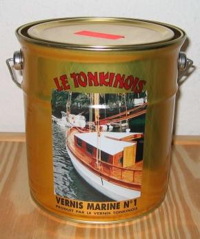 Le Tonkinois, Marine Klarlack No 1, 2,5 ltr. mit verstärktem UV-Schutz