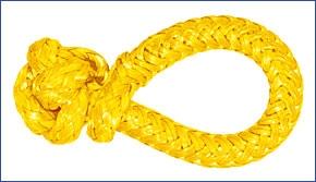 LIROS-XTR Soft Schäkel ,   BRL : 6 t , gelb