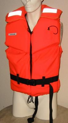 Navyline Rettungsweste 100 N , für 70 - 90 kg Körpergewicht