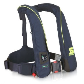 Secumar SURVIVAL 220, Blau/Weiß Harness, Click 50, 4001S, CO2-Dock 43 g