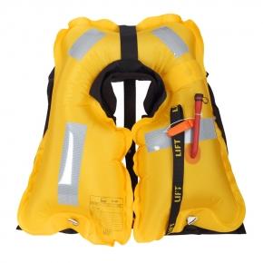 Secumar Ultra 170 Harness ( Lifebelt ), mit Schrittgurt und Lifebelt, grau - schwarz