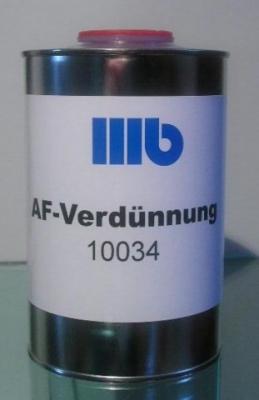 Wohlert AF-Verdünnung 10034 , 1,0 ltr.