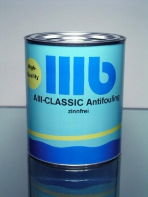 Wohlert AIII Classic Antifouling , schwarz , 2,5 ltr.