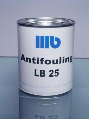 Wohlert LB 25 Antifouling , 2,5 ltr., rot