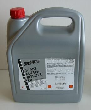 Yachticon 2-Takt Außenborderöl, gemäß TC-W3, 5 Liter