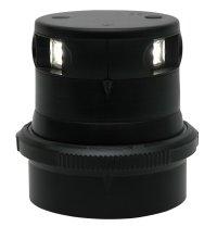 Aquasignal Positionslaterne Serie 34, dreifarben Laterne , Gehäuse schwarz