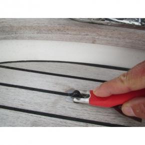 MOZART Abstoßmesser für Decksfugen in Teakdecks