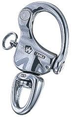 Wichard Schnappschäkel mit kleinem Wirbelauge , 70 mm , BRL 2000 kg , WL 960 kg